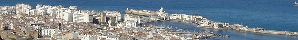 首都アルジェー遠景