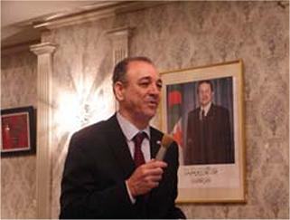 新任の駐日アルジェリア大使の協会行事へのご参加