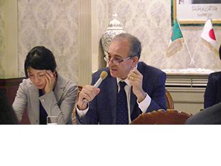 ベンシェリフ駐日アルジェリア大使による講演会