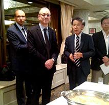 ベンシェリフ在京アルジェリア大使ご所有の映画の鑑賞会