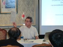 私市日本アルジェリア協会理事による講演会